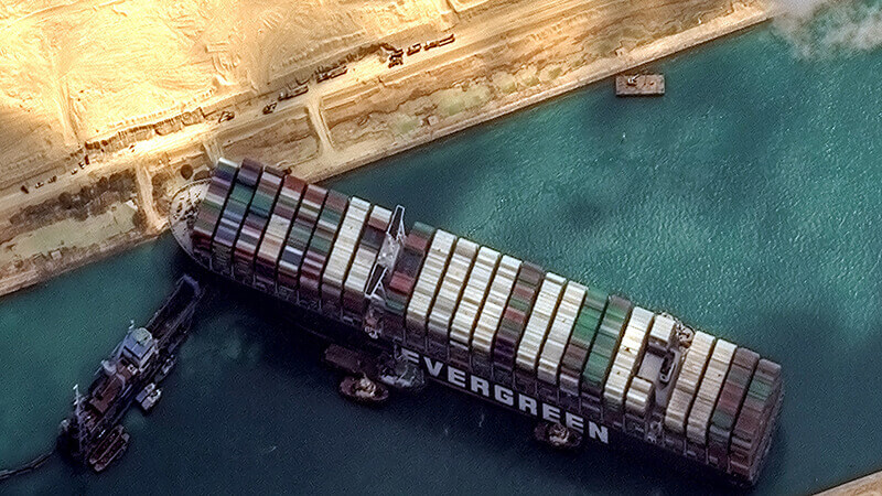 Suez Canal Likely to Continue Facing Trade Loss for Months Despite the Removal of Ship Blocking the Way